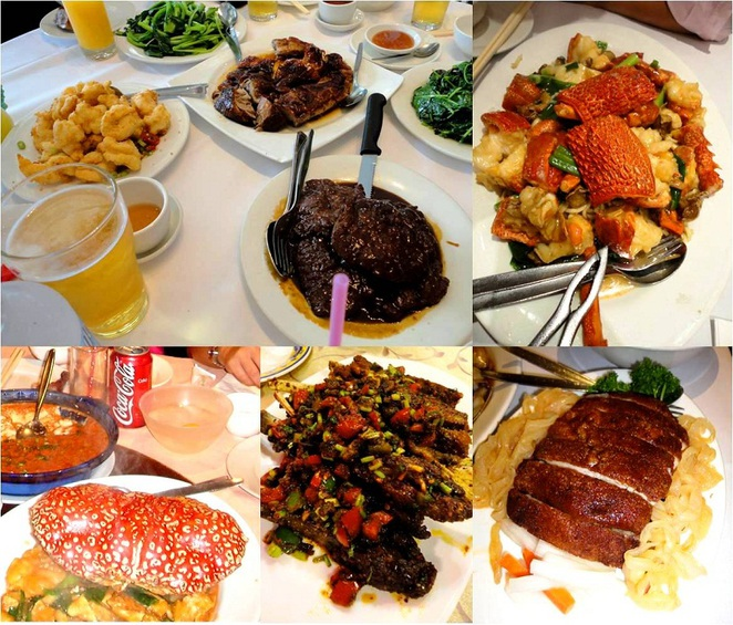 lunar new year feasting