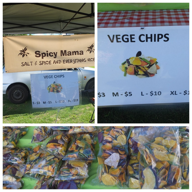 Mooloolaba Collective Markets, outdoor Market, Playfair for Kids, Bambooy Designs, Follow The Sun, Asha Jane & Co., Spicy Mama, Swine and Dine, food stalls, food trucks, iced teas, The Fox & Dandelion, Mooloolaba State Primary School, dog friendly