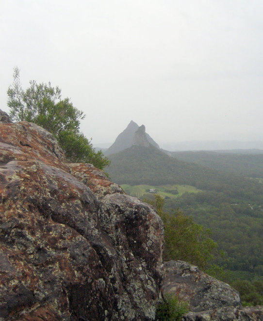 The view from Mt Ngungun