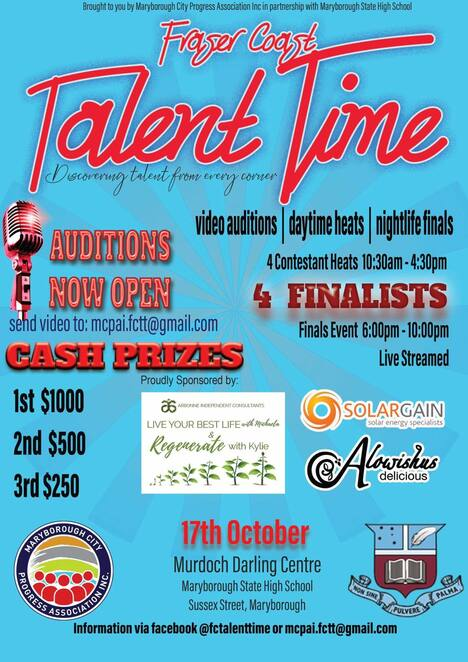 Music, Win Stuff, Competitions, Fraser Coast, Maryborough, Queensland, Fun Things to Do