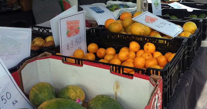 Nundah Markets are great for fresh fruit and vegetables