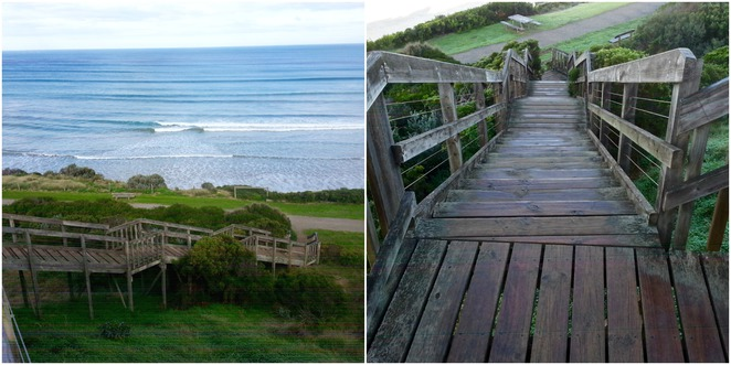 Ocean Grove Lookout, Steps, Grant's Lookout, Lookout Reserve, Bellarine, Foreshore, Walking Track,