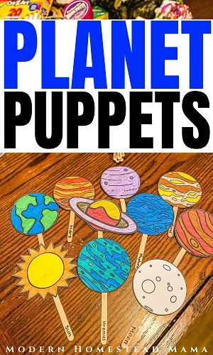 Planet Puppets printable