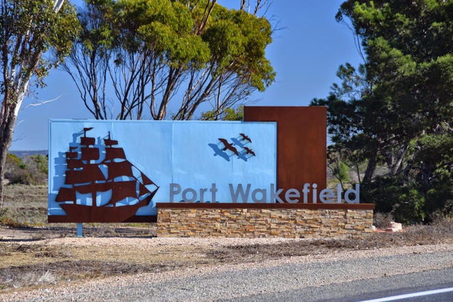 Port Wakefield Historical Walk, Salt of the Eart Cafe, Port Wakefield Bakery, Kiplings Bakery, Coolabah Cafe, Port Wakefield Tidal Beach, Old Pepper Tree, Port Wakefield Tiled Wall