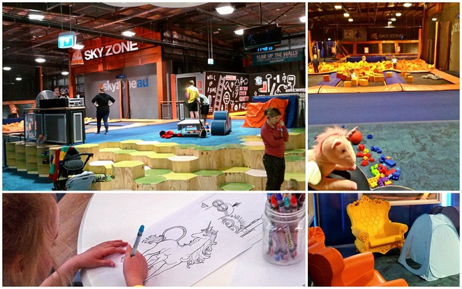 skyzone, little leapers, canberra, ACT, kids, trampolining centres, belconnen, ACT, mothers groups, prescoolers, play dates,