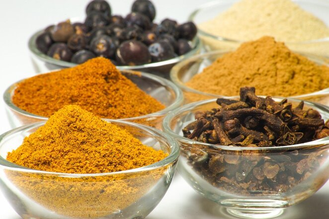 Spices, Curries, Indian food
