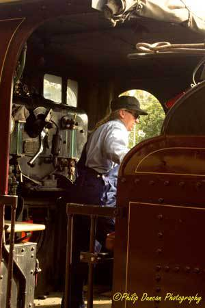 Steam Train, Steam loco, The oil boy.