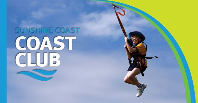 Coast Club Sunshine Coast, school holiday adventure activities, Sunshine Coast Recreation Centre, Currimundi, The Rock Face, every Saturday, enclosed shoes, canoeing, caving, giant swing, archery, surfing, daredevils, body boarding, vertical climb, kayaking, archery tag, stand up paddle boarding, fencing, pool games, Queensland Recreation Centres