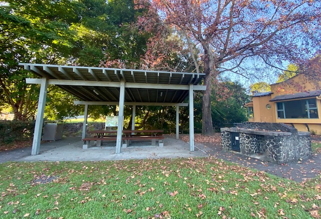 Tesch Park includes a range of picnic and BBQ facilities