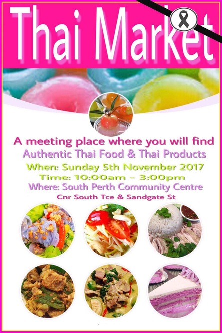 Thai Market South Perth traditional cultural tasty authentic cuisine food dancing music singing produce culture