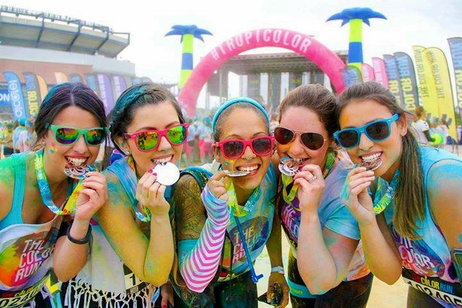 the color run, canberra, ACT, charity, girls day out, fun run, hens parties,