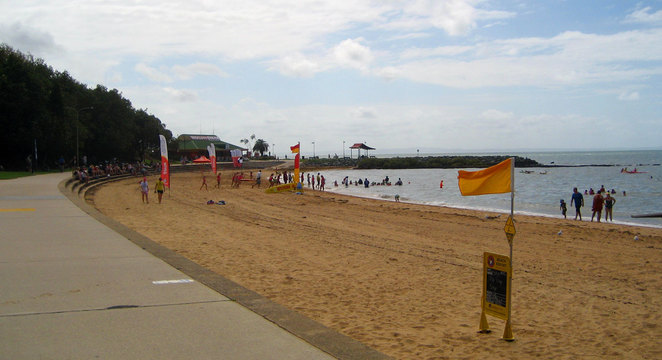 Suttons Beach at Redcliffe
