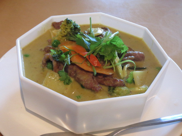 Tiger Lily Cafe, Green Curry, Adelaide