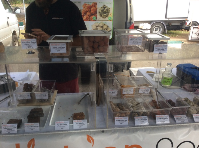 Vegan truffles, chocolate, brownies, Frenchs forest