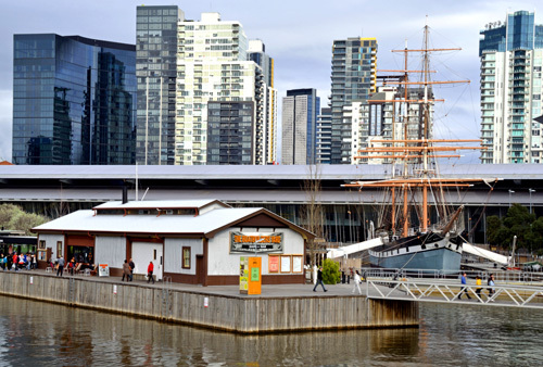 Victoria Melbourne Polly Woodside Yarra River South Wharf Ship Ships Shipping