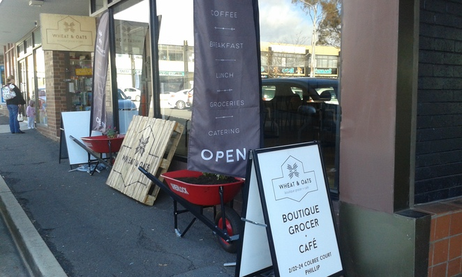 Wheat and oats cafe and grocer, philip, cafes, canberra, woden cafes