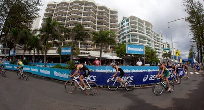 ... and cycle your way around Mooloolaba in this annual event.