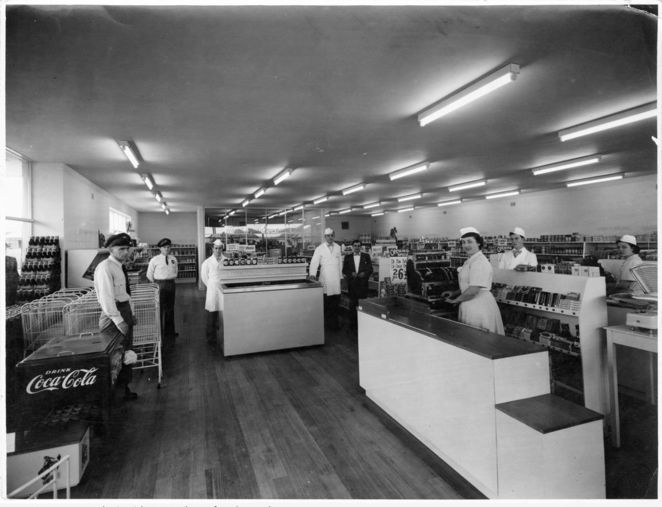adelaide firsts, first in adelaide, first in australia, state library sa, south australia, in adelaide, in australia, first supermarket