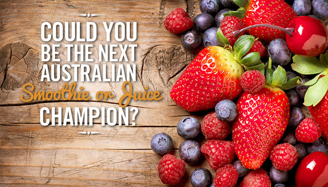Australian Smoothie and Juice Championship fine food queensland