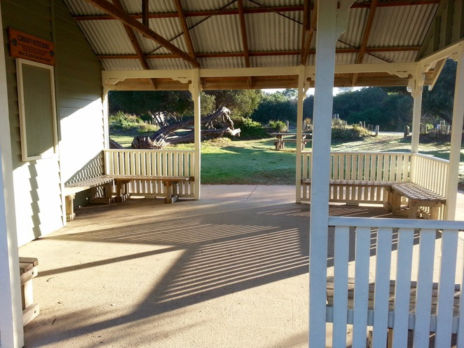 Barwon Heads Park, Undercover area