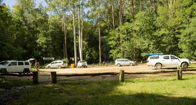Boarding house dam, car park, picnic area,