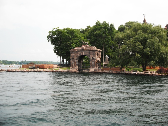 Boldt Castle Entry Arch of Honour