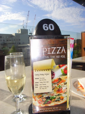 box hill rsl cheap pizza