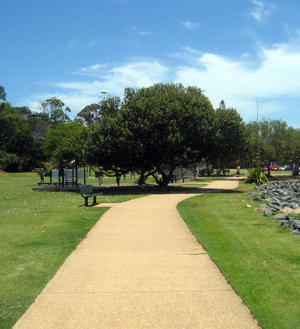 The park at Wellington Point