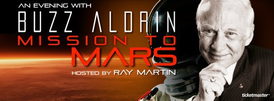 Buzz Aldrin Mission Mars Martian
