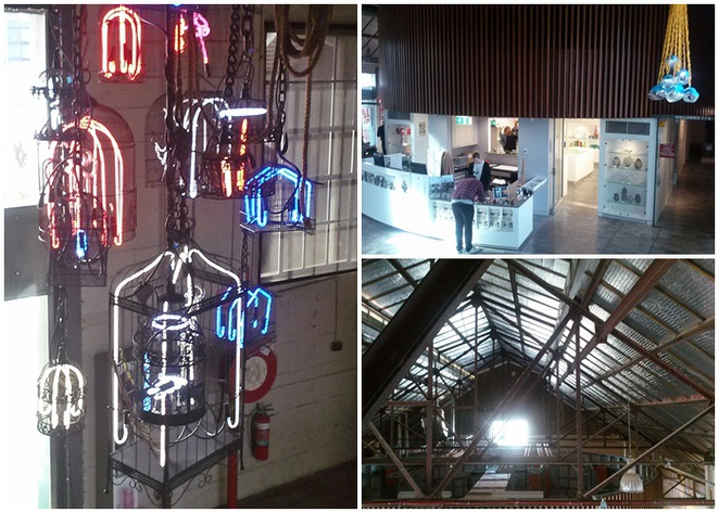 canberra glassworks, canberra, ACT, kingston power house, tours, historical tours, glass,