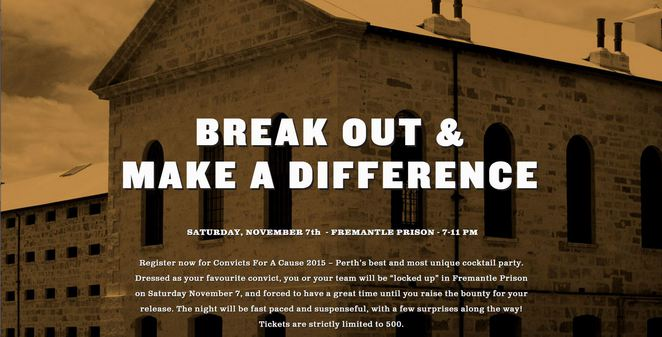 Convicts, Charity, Event, Cystic, fibrosis, diabetes