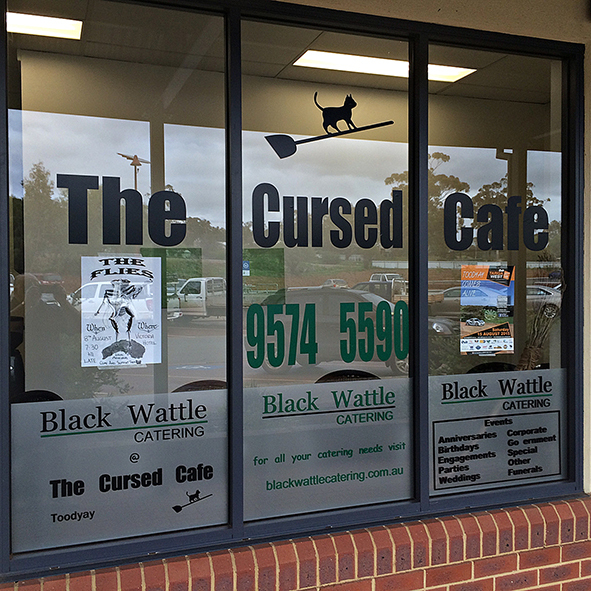 Cursed Cafe, Lynda Burke, Black Wattle Catering