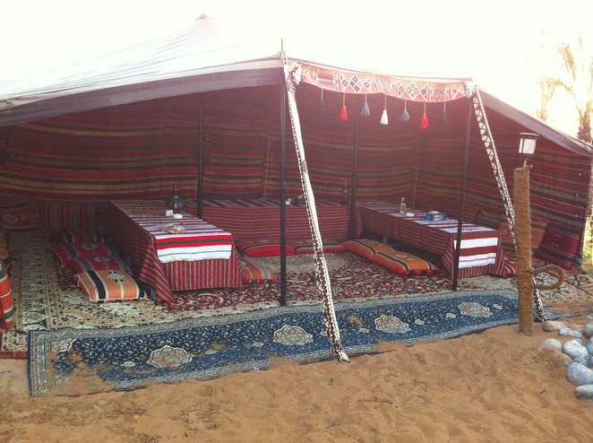 Desert Camping - Dining Area