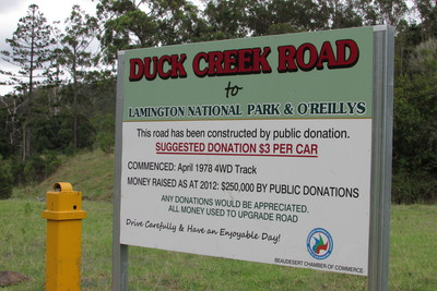 Duck Creek Road