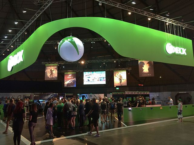 Expo Exhibition Stands Xbox : Eb games expo sydney by jade jackson