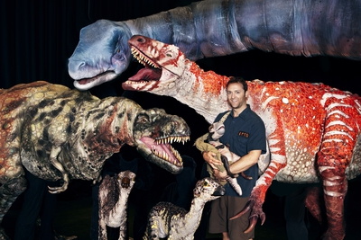 erth visual and physical inc., dinosaur zoo, new victory theater