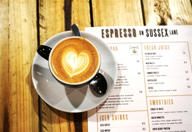 Espresso on Sussex Lane,City Cafe, Cafe, Coffee, Breakfast, Lunch, Campos