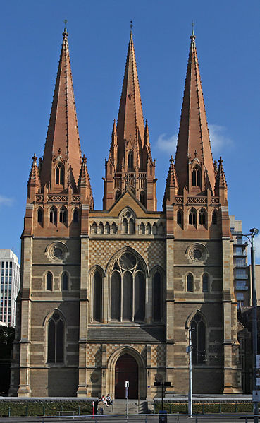 flinders Street Station, Federation Square, Federation Square facts, Federation Square history, Federation Square restaurants, ACMI, Birrarung Marr, St Paul's cathedral, Young and Jacksons pub