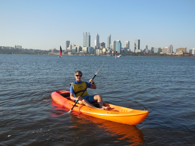 Funcats kayak hire on the Swan River