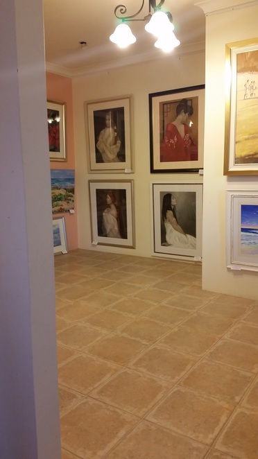 garden-like the gallery leads to beautiful rooms of emotion and colour