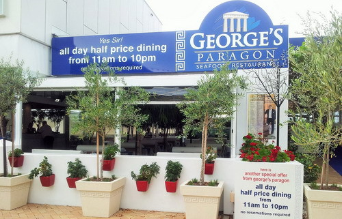 georges paragon,seafood,restaurant,sanctuary cove,