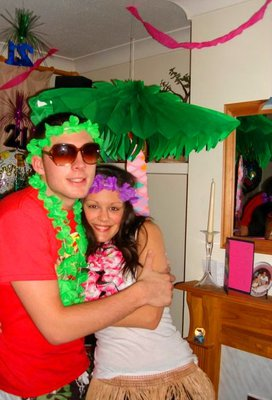 hawaiian party, decorations, party decorations, inflatebable palm tree, palm tree decoration
