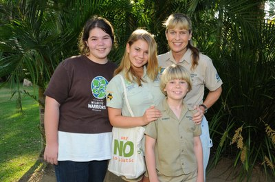 Help Tegan Lather and the Irwin family raise money for the Wildlife Warriors charity/Image from wildlifeemergency.com.au