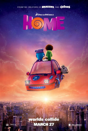 Home- official movie poster