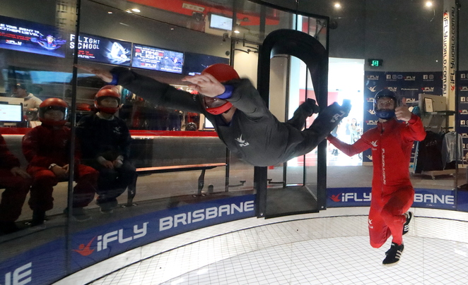 Yes, you too can fly at iFLY