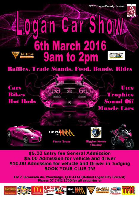 logan, car show, stalls, entertainment, competitions, cars, motorbikes, utes, rides