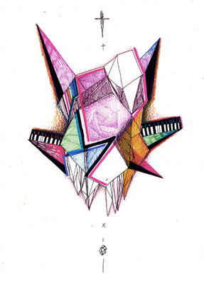Lucabattles, Logo, Art, Luca, Battles, Prints, Geometry