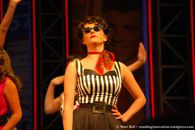 Lucy Maunder Rizzo Grease The Musical