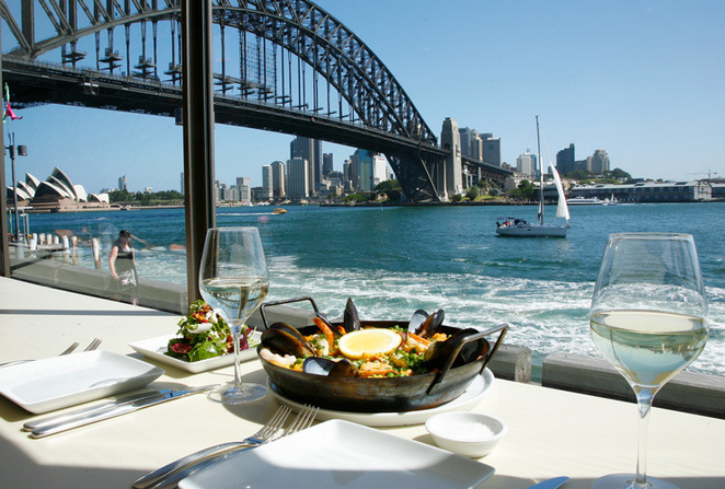 luna park, milsons point, the deck restaurant, restaurants in milsons point