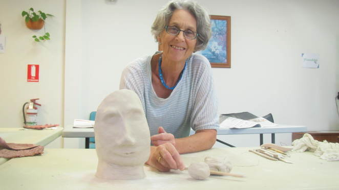 Memory in Your Hands, Alderley, Relaxation Centre, self help, art, creativity, self expression, clay sculpting